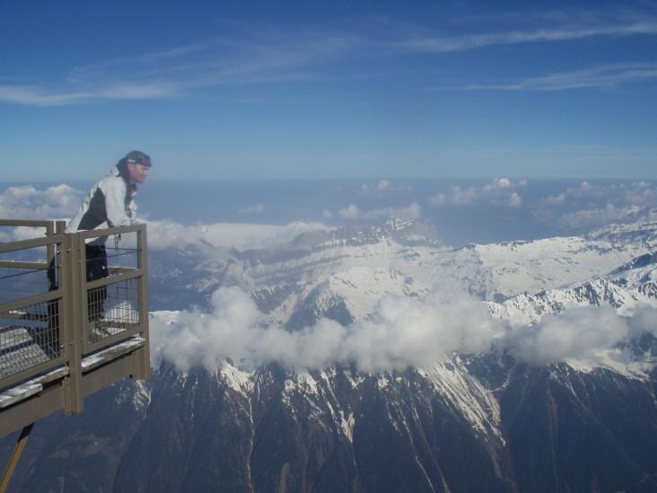 Dr Jonathan Cartile DC on Chamonix
