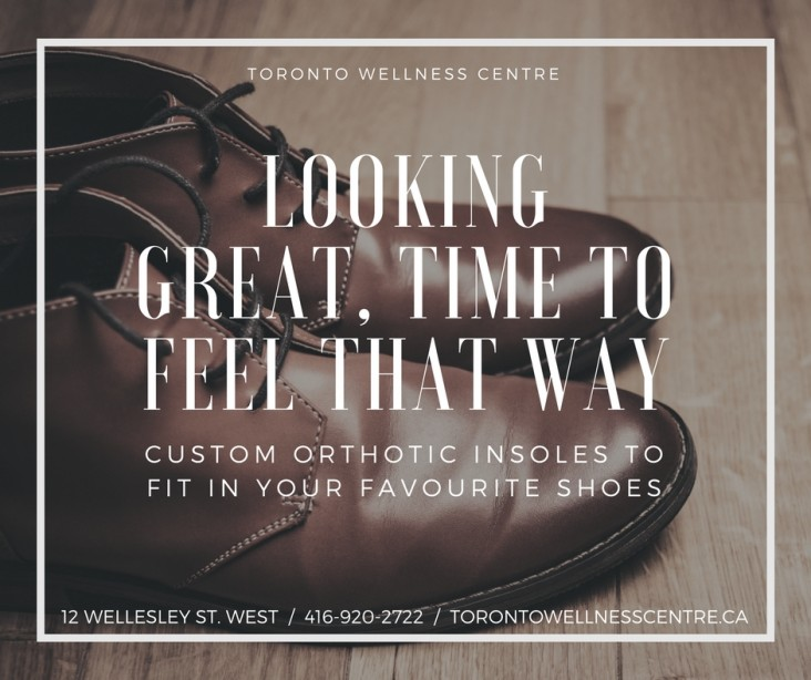 Custom Orthotic Inserts in Toronto